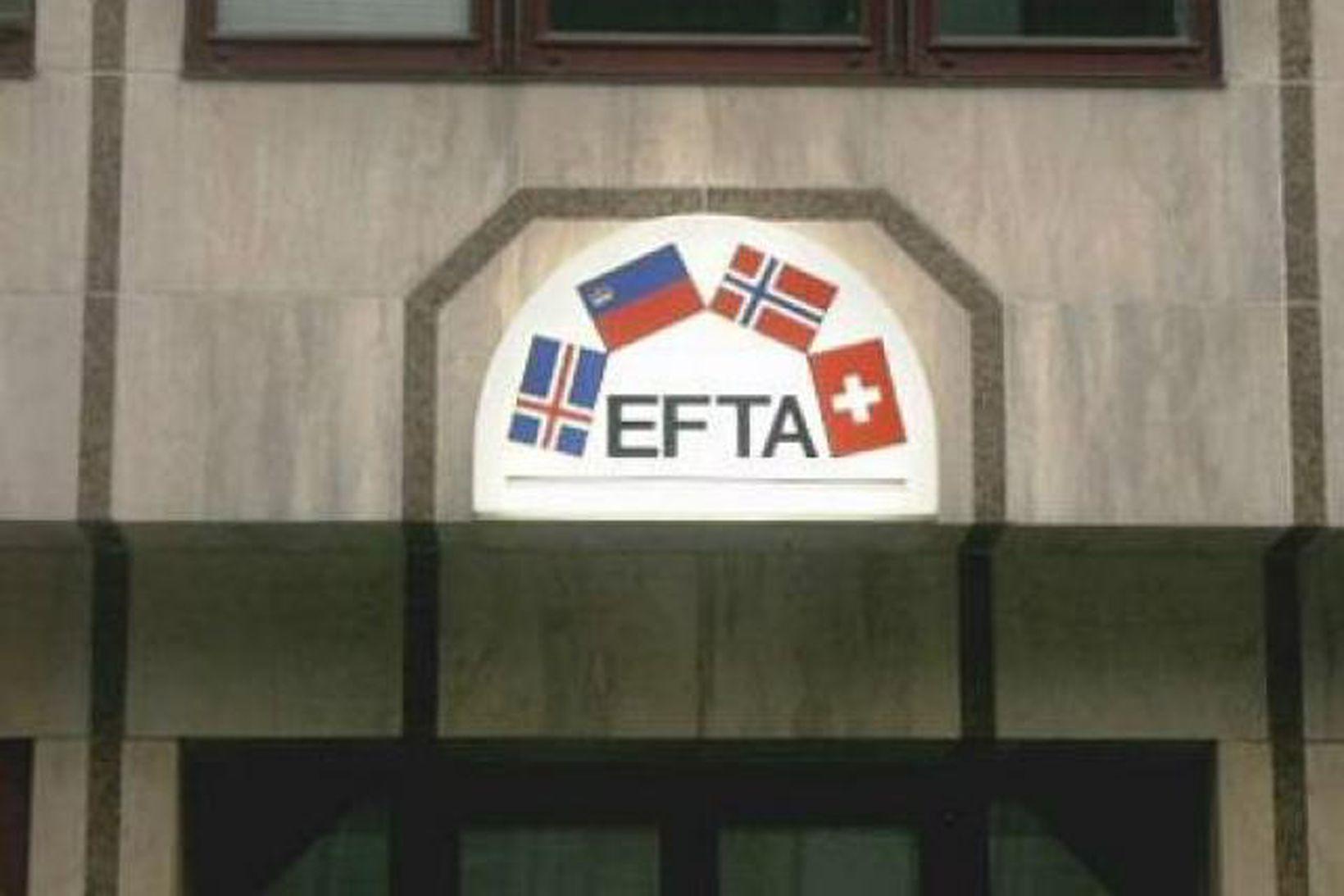 Skrifstofur EFTA í Brussel.