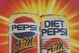 Pepsi AM er góð hugmynd sem gekk ekki upp. AM útgáfan innihélt meira koffein en ...