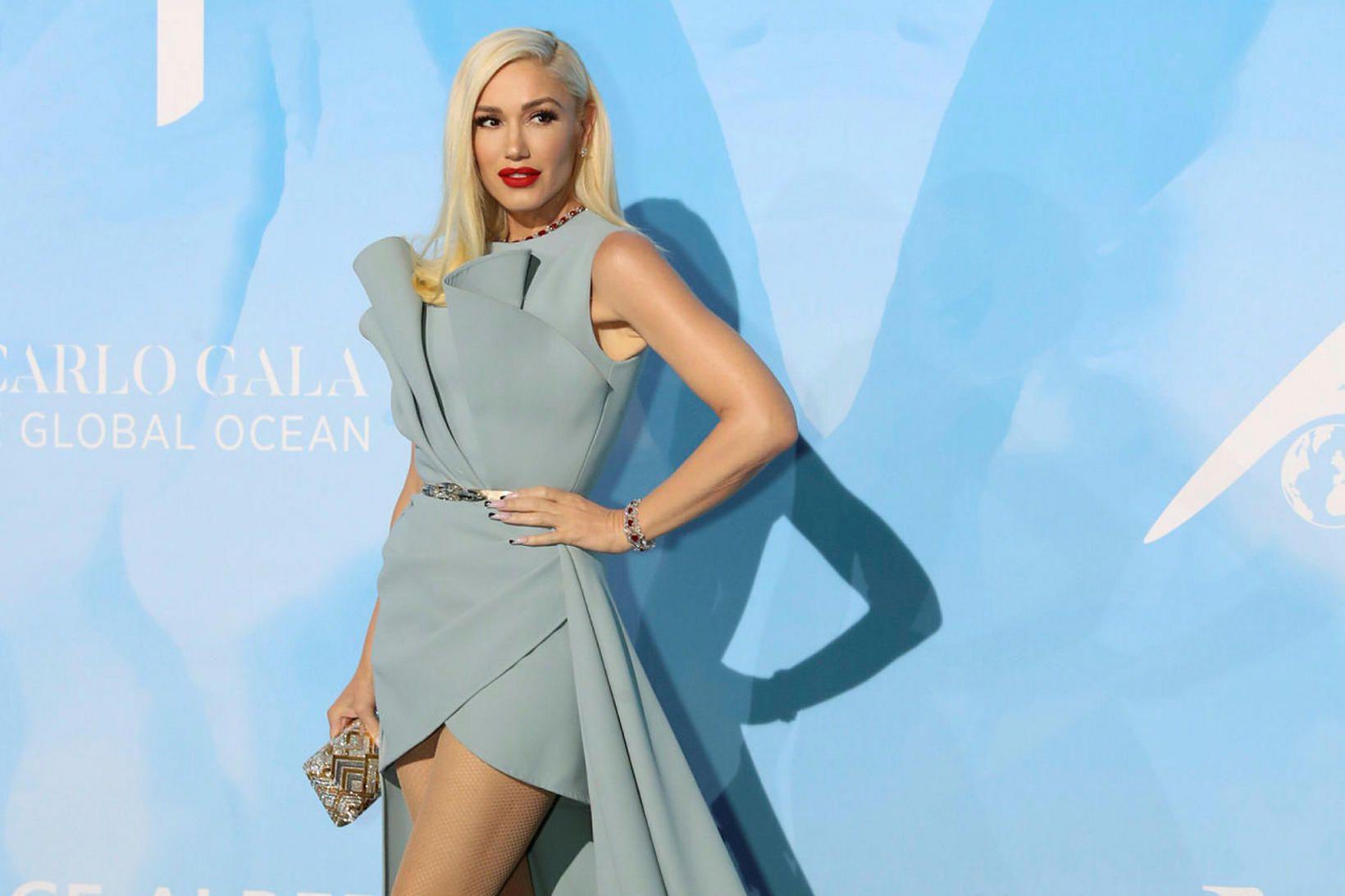 Gwen Stefani finnst gott að vera í rútínu.