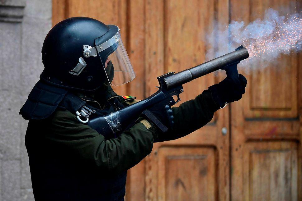 Táragasi var beitt gegn stuðningsmönnum Evo Morales í átökunum í ...