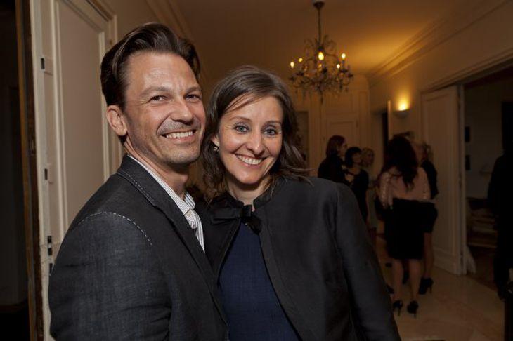 Frank Pitt og Elín Klara Bender.