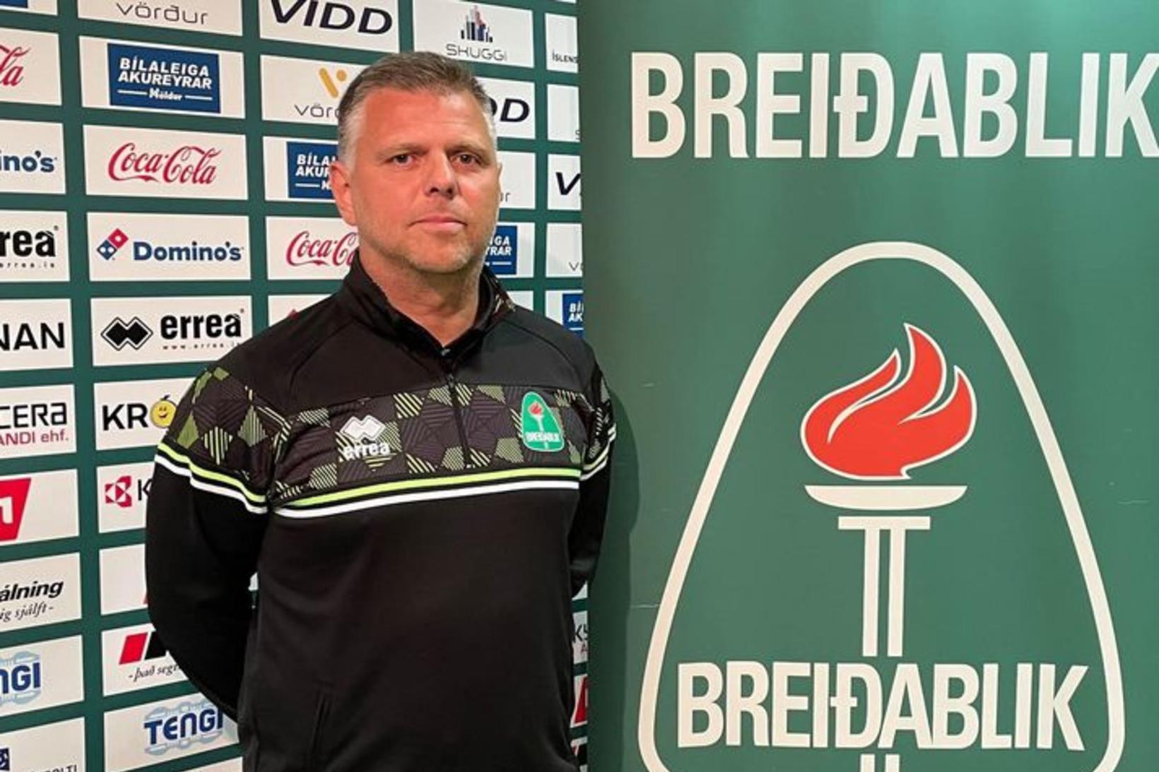 Ásmundur Arnarsson er nýtekinn við sem þjálfari Breiðabliks.