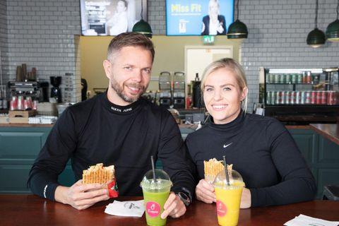 Ingi Torfi Sverrisson og Linda Rakel Jónsdóttir