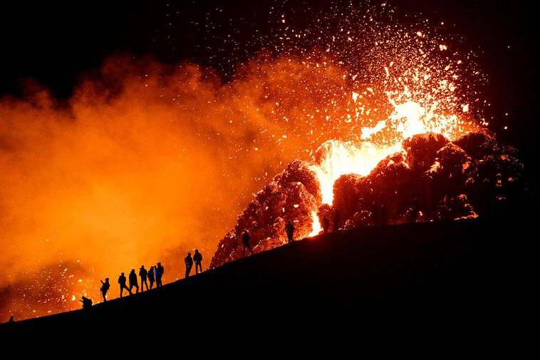 The eruption at Fagradalsfjall has been very tourist-friendly, being only a short drive from the …