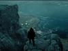 Horft niður að Djúpavík í stiklunni.