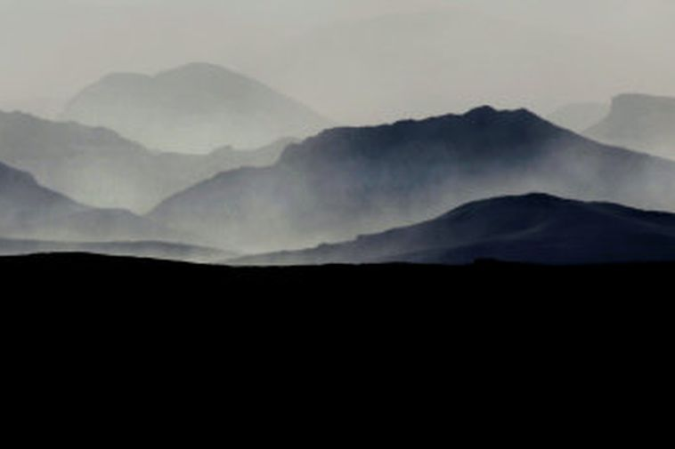 A sandstorm is currently in Skeiðarársandur.