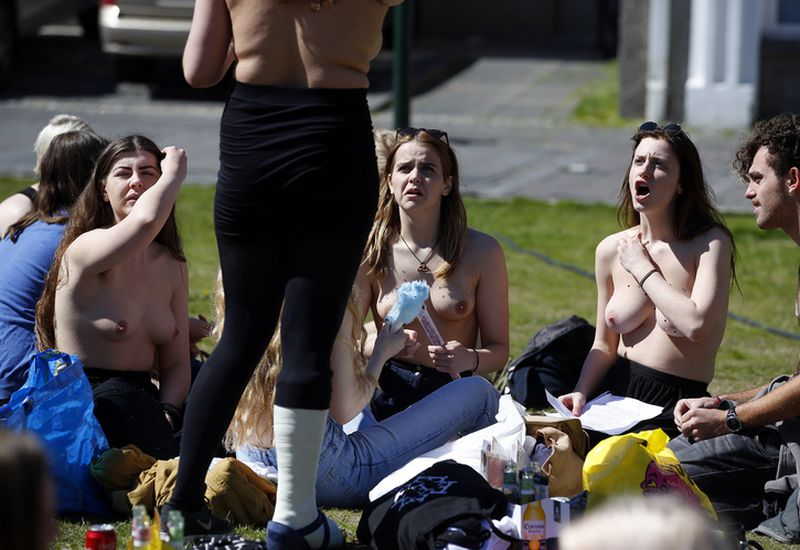On March 26th last year, students, mothers and even politicians bared their breasts on social media and in public to protest nudity double standards.