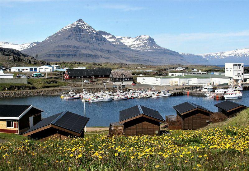 From Djúpivogur, the East Fjords.