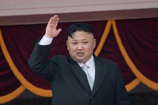 Leiðtogi Norður-Kóreu, Kim Jong-Un.