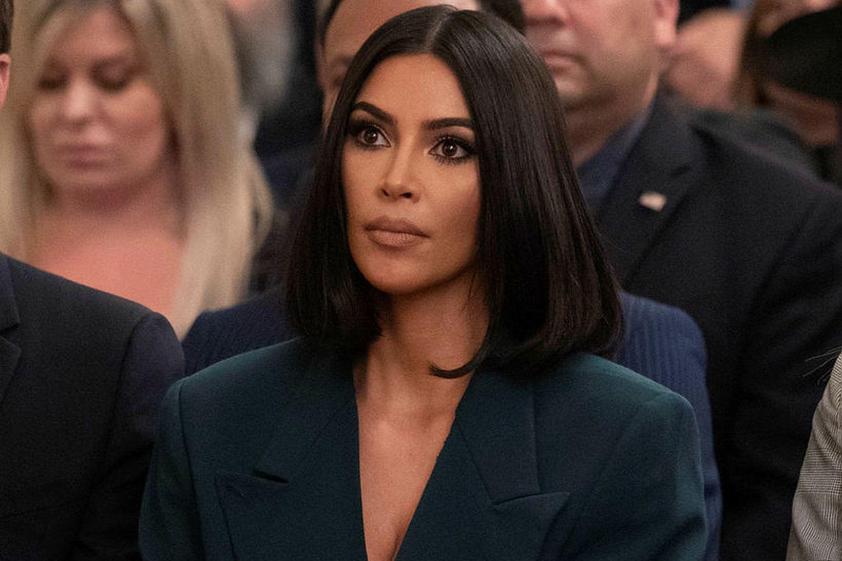 Kim Kardashian er sökuð um að hafa stolið hönnun Emilio …
