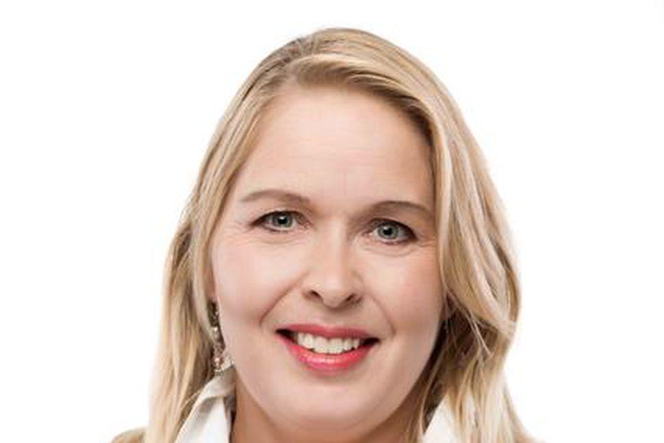 Sveinbjörg Birna Sveinbjörnsdóttir, oddviti framboðs framsóknarmanna og flugvallarvina í Reykjavík.