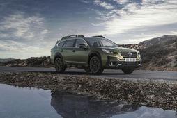 Hinn nýi og endurhannaði Subaru Outback.