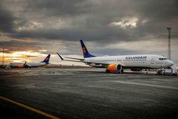Boeing 737 Max vélarnar hafa verið kyrrsettar frá því í mars.
