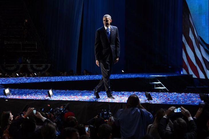 Þetta er forseti Bandaríkjanna: Barack Obama.