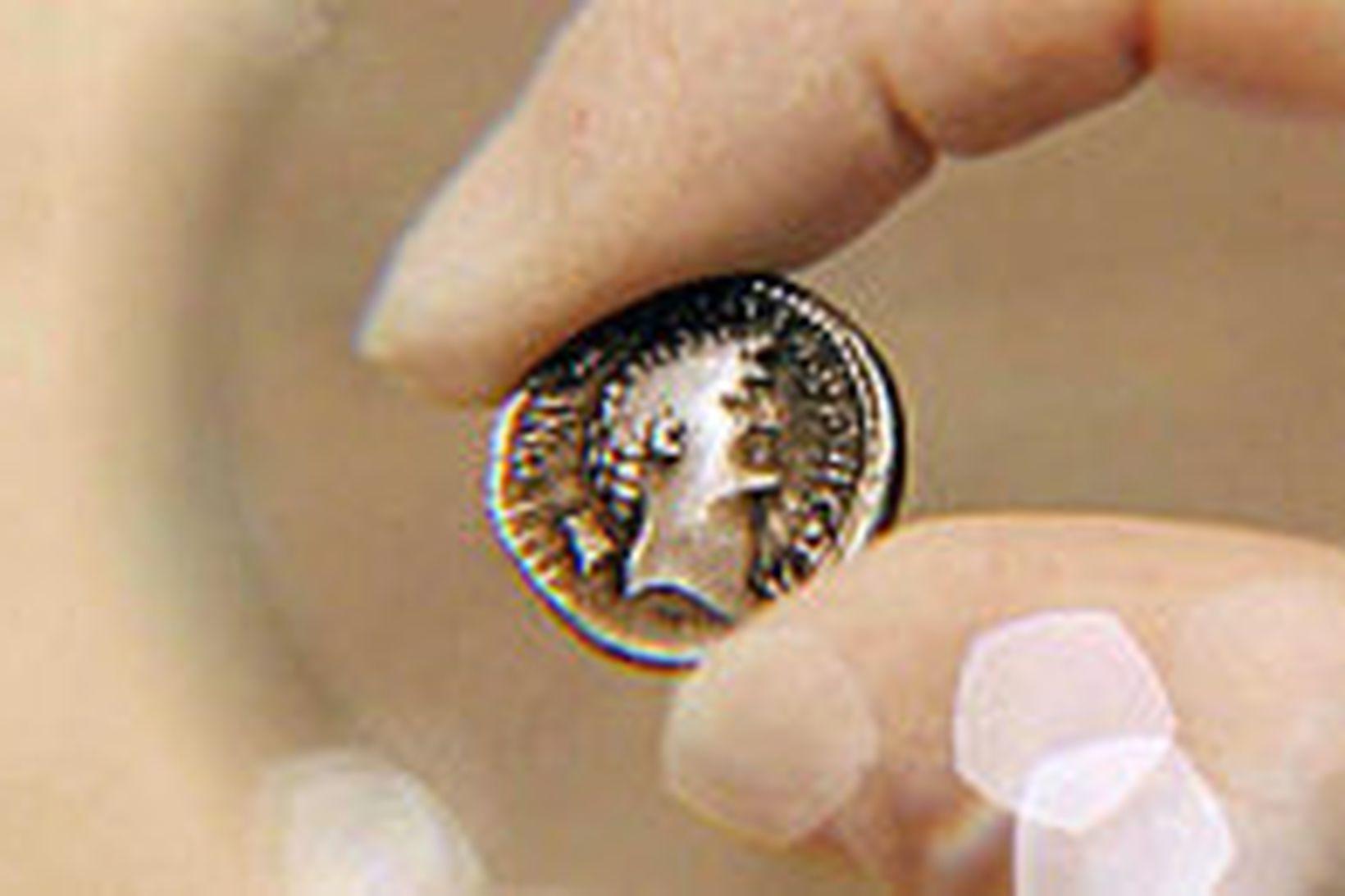 Kleópatra var sögð kvenna fegurst.