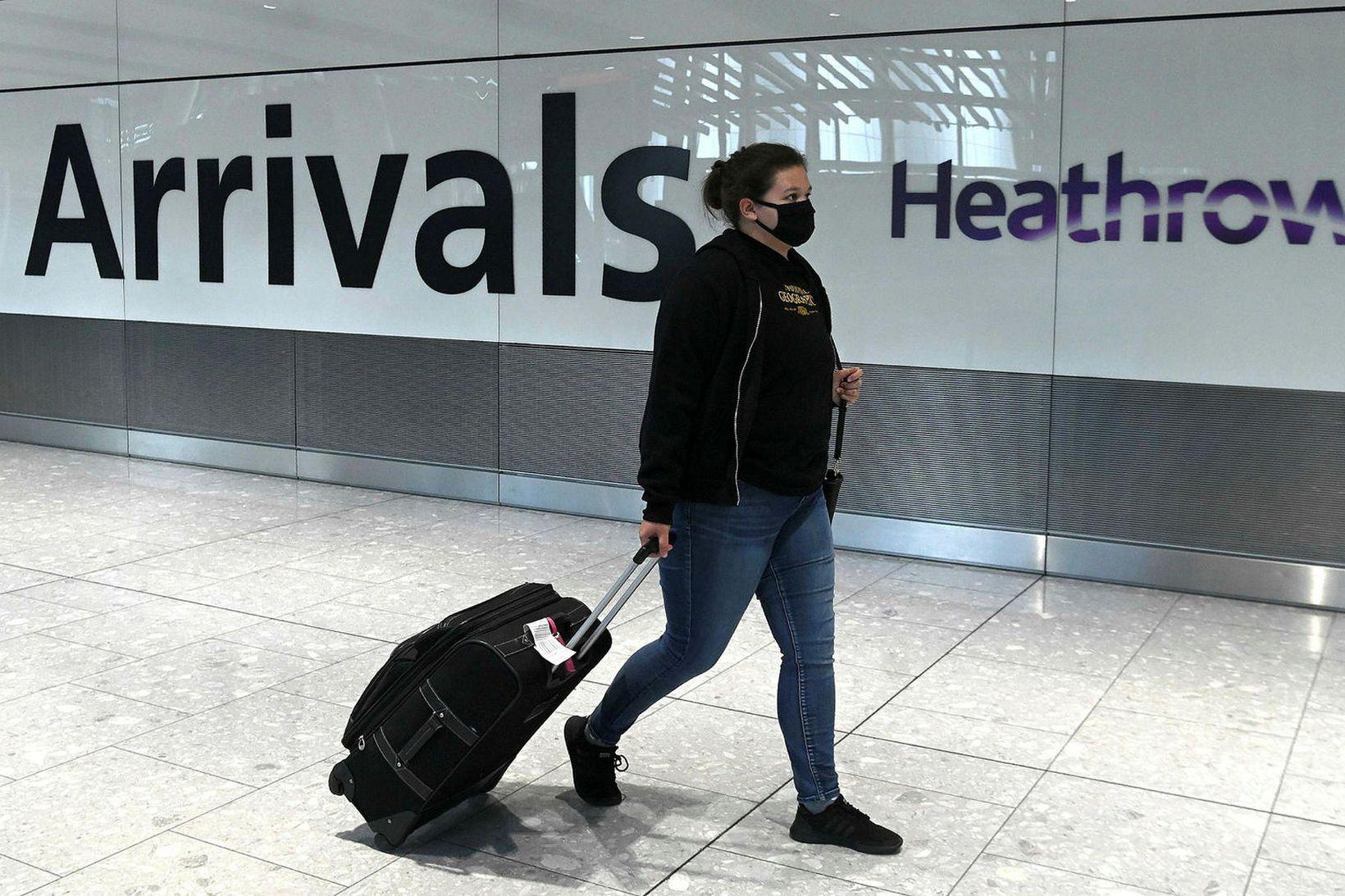 Heathrow-flugvöllur í London.