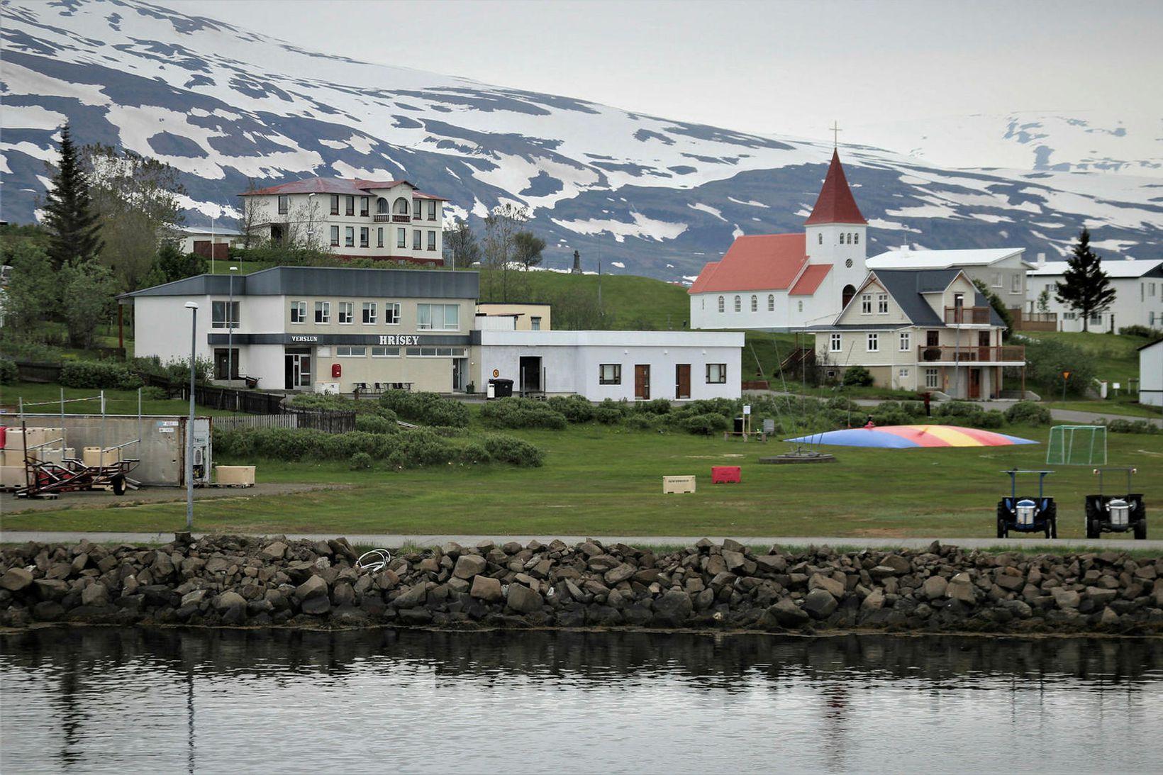 Hrísey er perla Eyjafjarðar.