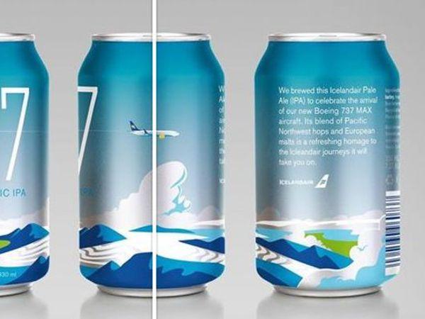 The new Icelandair beer.