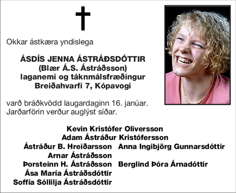 Ásdís Jenna Ástráðsdóttir