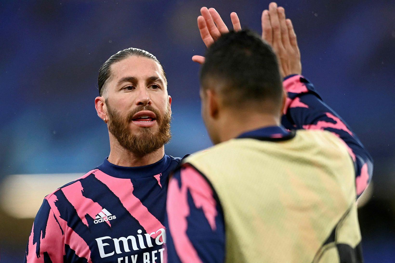 Það bendir allt til þess að Sergio Ramos sé á …