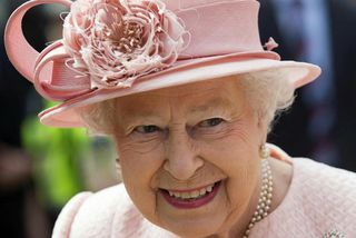 Elísabet II Englandsdrottning.