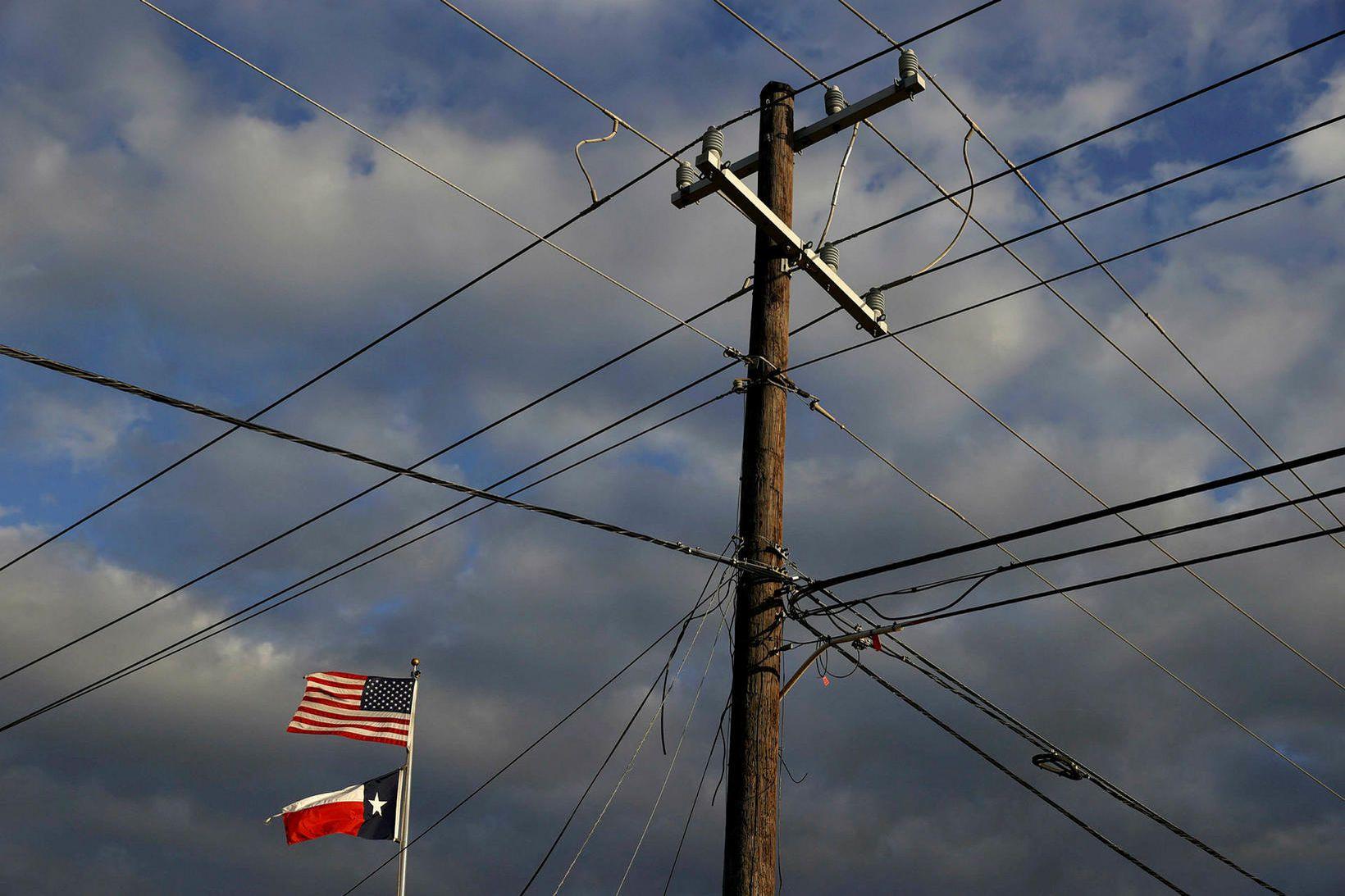Rafmagnsstaur. Ekki þó í Kína heldur í Houston í Texas.