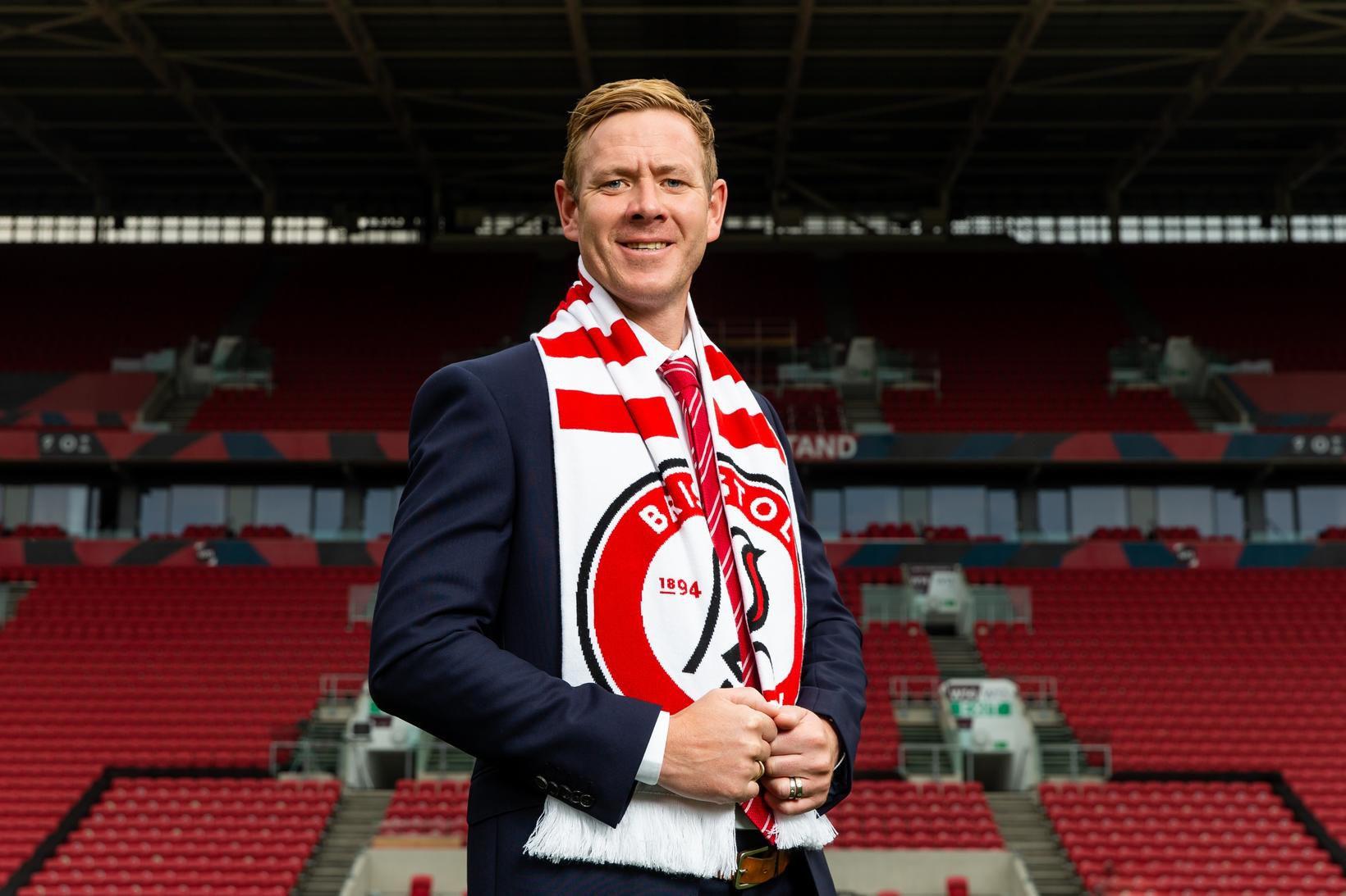 Dean Holden er orðinn stjóri Bristol City.