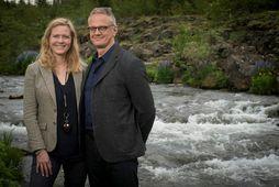 Erling Aspelund og Kristín Björnsdóttir reka Iceland Encounter.