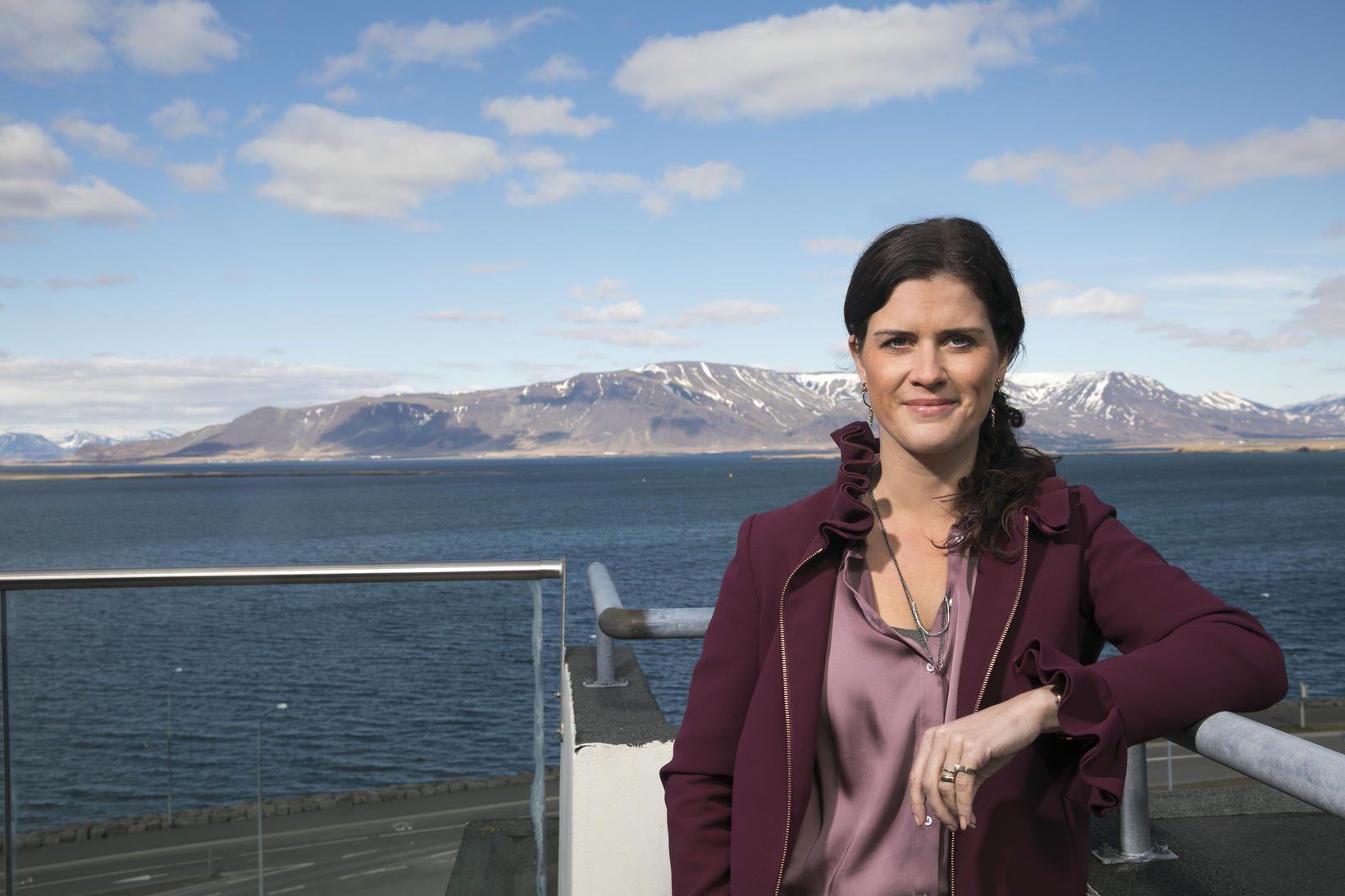 Þórdís Kolbrún segir mikilvægt að á Íslandi verði til umhverfi …