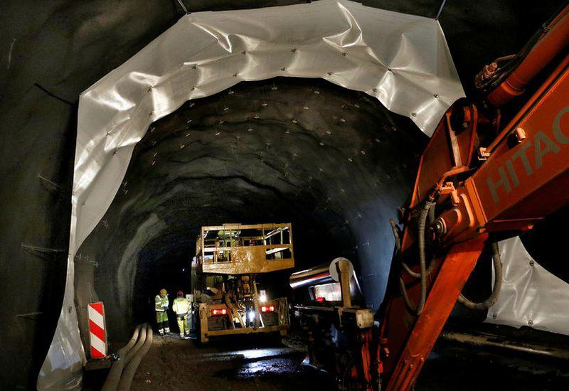 From the Vaðlaheiði Tunnel this summer.