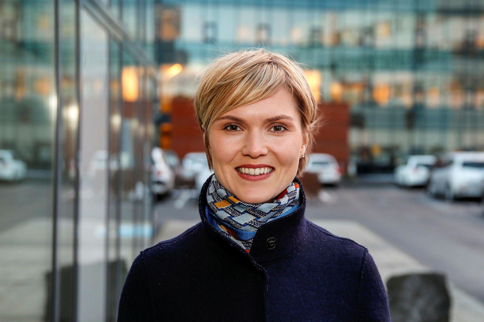 Kristrún Frostadóttir.