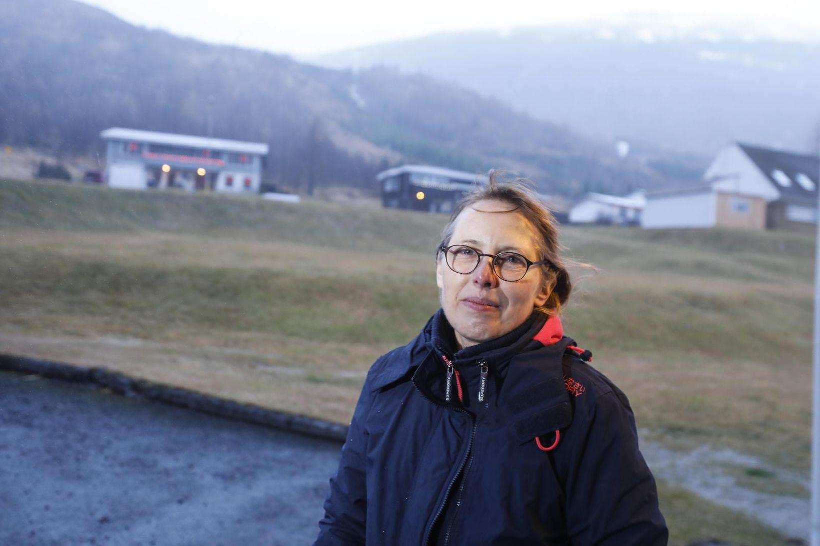 Condula Schrand var stödd í Reykjavík þegar hún fékk tíðindin …