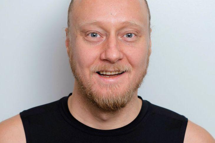 Þór Jóhannesson jógakennari.
