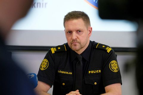 Superintendent Rögnvaldur Ólafsson, at the Department of Civil Protection and Emergency Management.