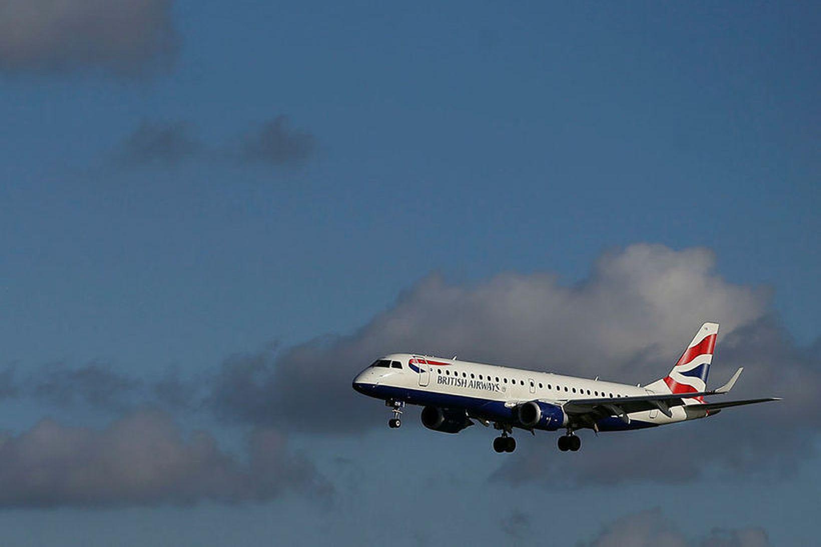Flugmenn British Airways hafa boðað verkfall 9., 10. og 27. …