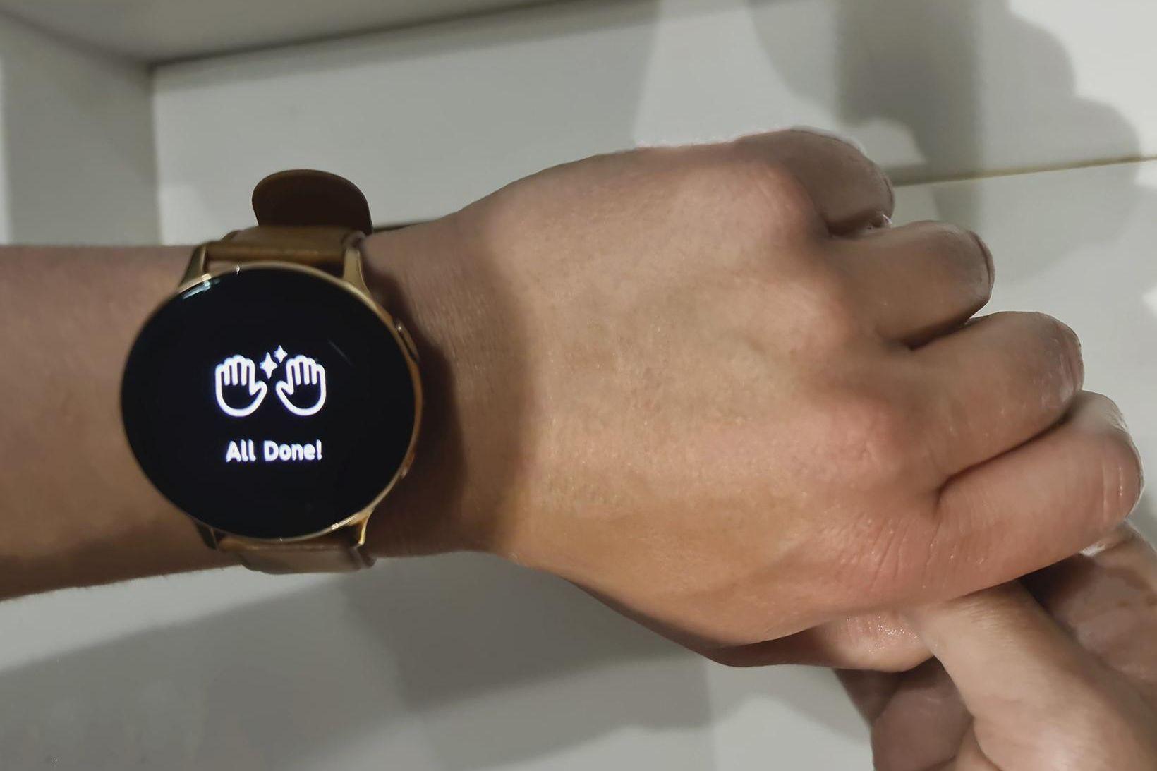 Samsung hefur þróað nýtt app sem hjálpar til við handþvott.