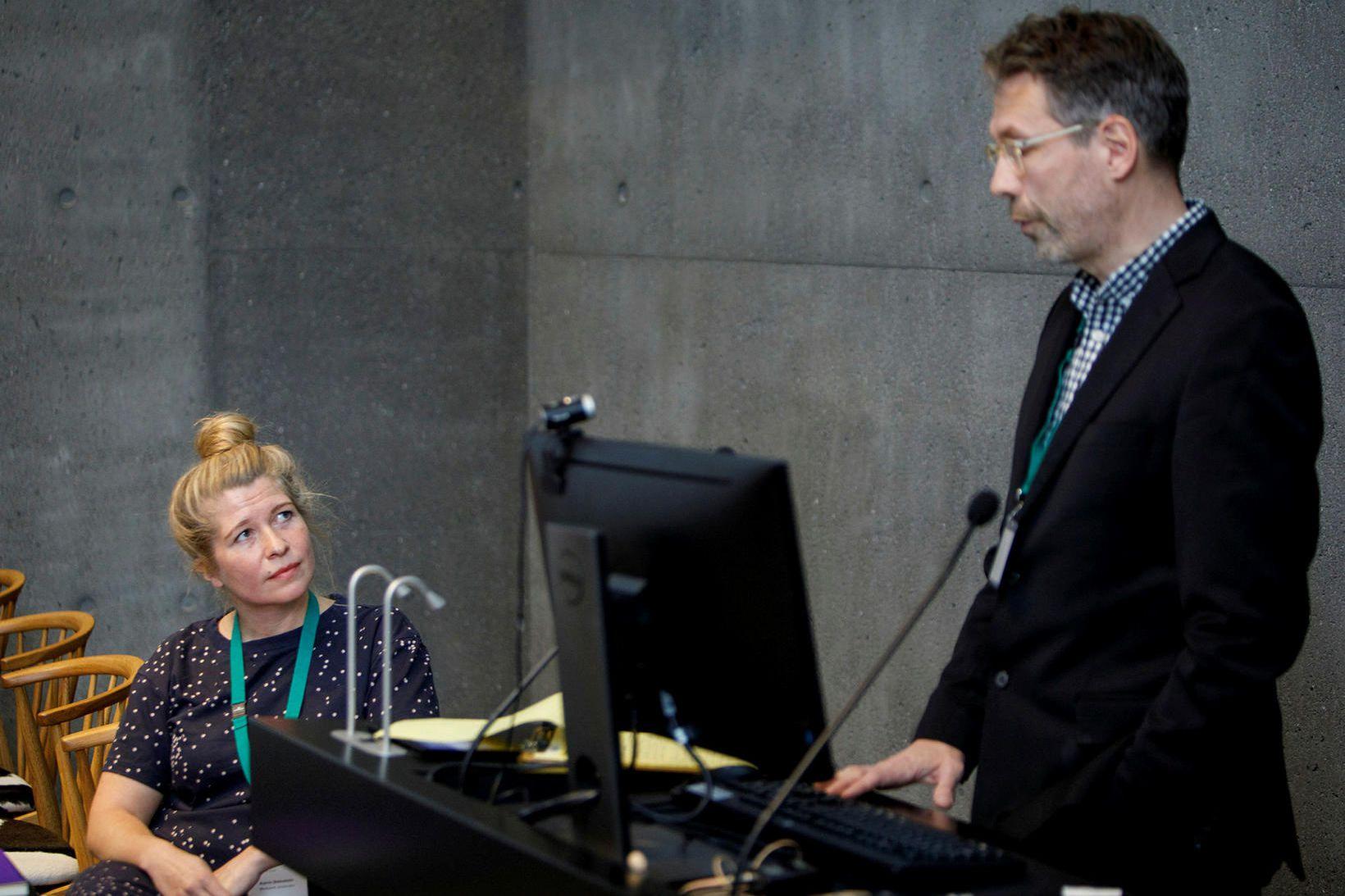 Katrín Oddsdóttir og Jón Ólafsson.