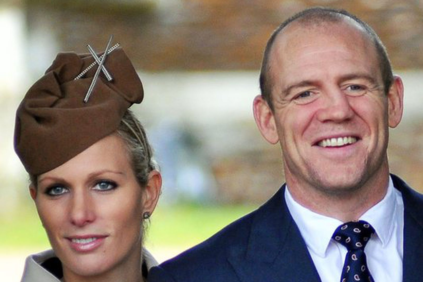 Zara Philips og Mike Tindall.