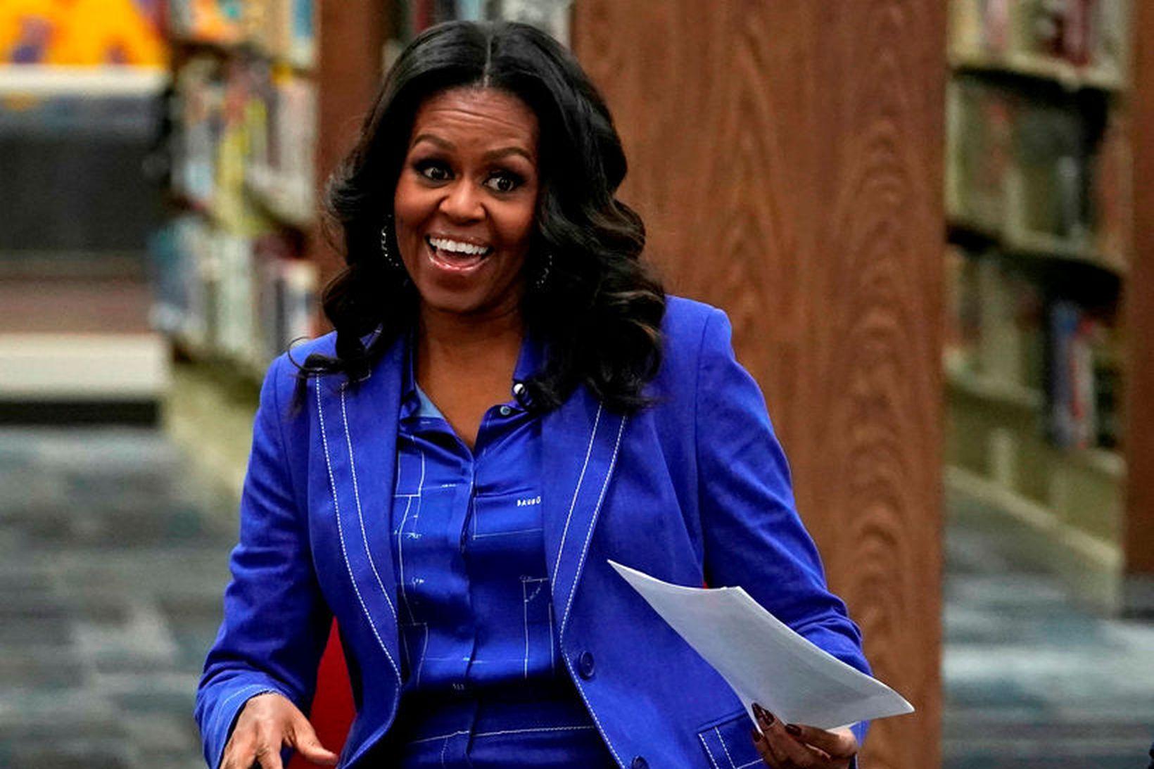 Michelle Obama, fyrrverandi forsetafrú Bandaríkjanna.