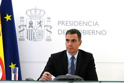 Pedro Sanchez, forsætisráðherra Spánar.