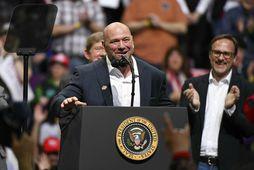 Dana White er forseti UFC.