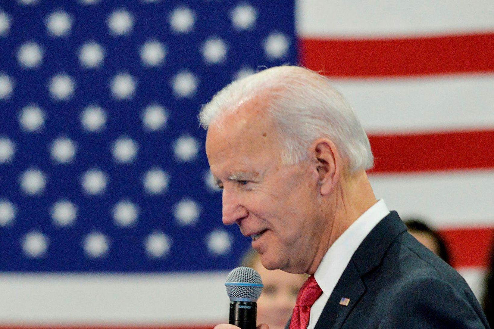 Fyrrverandi varaforseti Bandaríkjanna, Joe Biden.