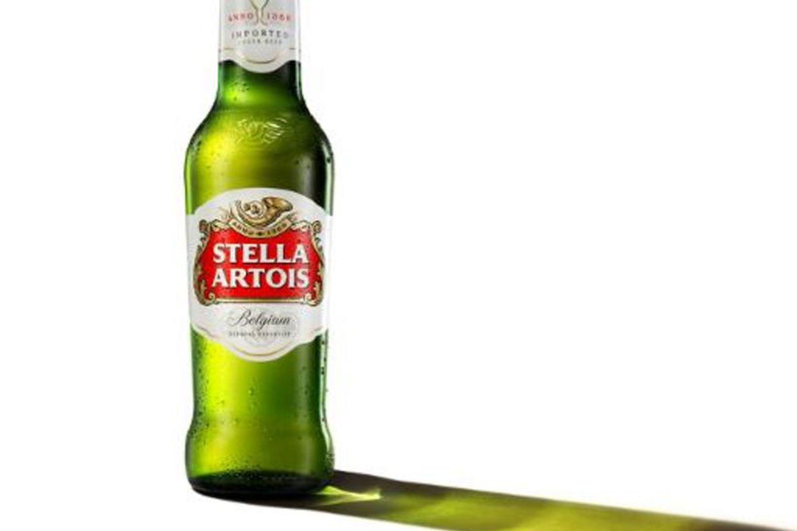 Stella Artois er vinsæll bjór.