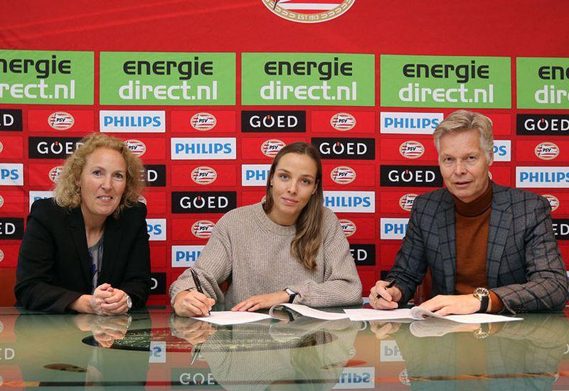 Anna Björk Kristjánsdóttir signs with PSV Eindhoven.