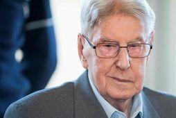 Reinhold Hanning var vörður í Auschwitz útrýmingarbúðunum.
