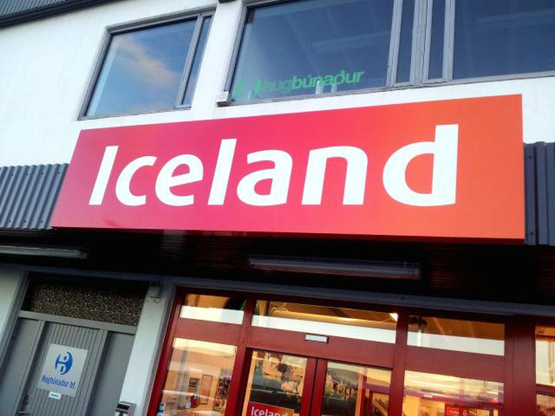 There are over 900 Iceland stores in the UK, Ireland, Czech Republic and Iceland (the country).