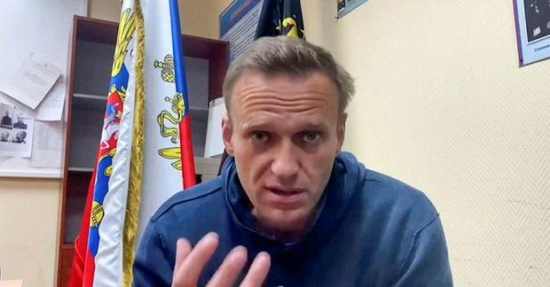 Navalní í janúar síðastliðnum.