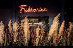 Fiskbarinn þykir með þeim betri í bænum, enda hráfefnið fyrsta flokks.