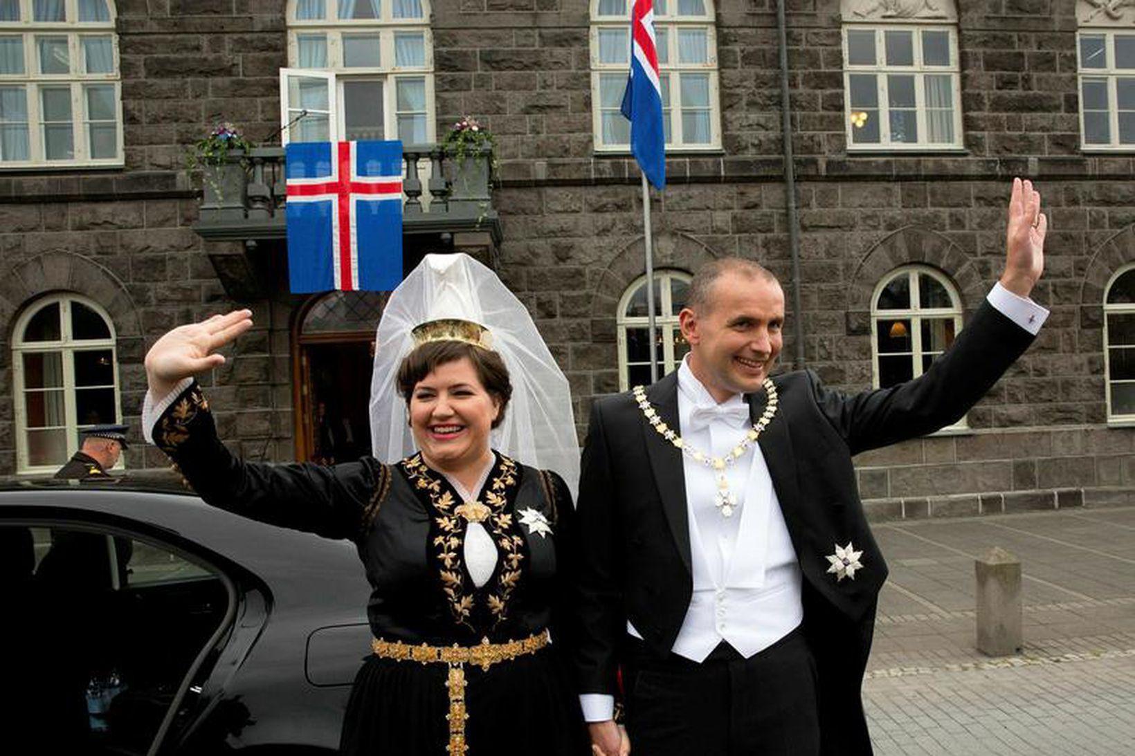 Guðni Th. Jóhannesson tók við embætti forseta Íslands fyrr í …
