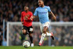 Raheem Sterling hefur blómstrað hjá Manchester City.